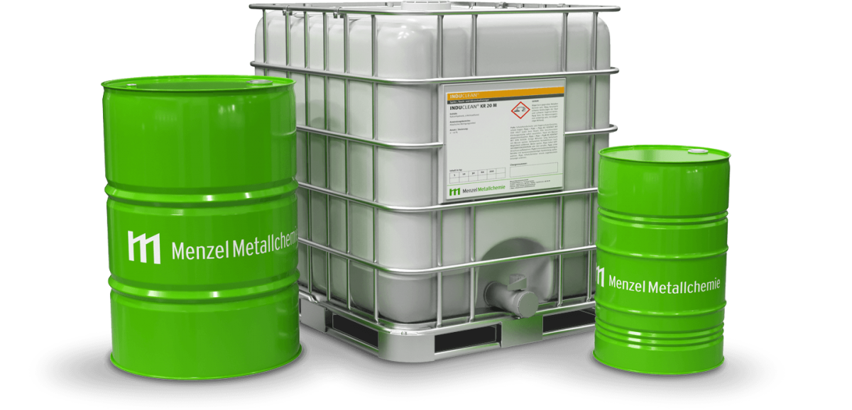 Cleaners in drums and IBC containers